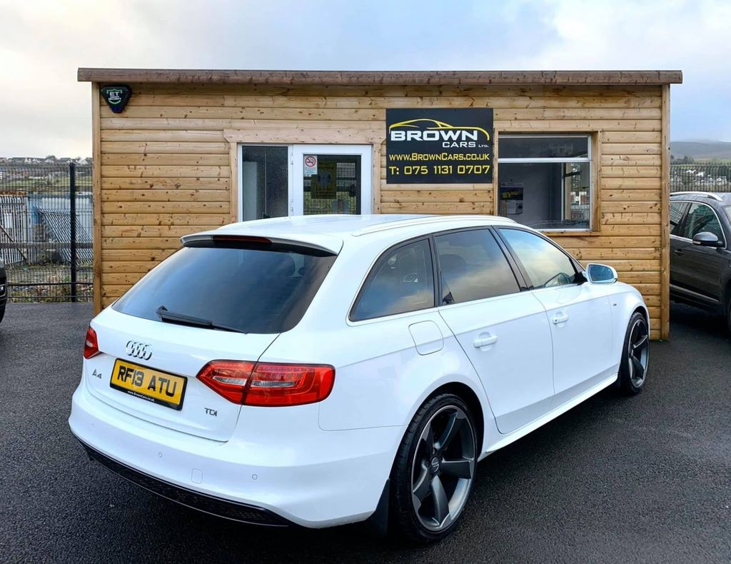 2013 Audi A4 TDI S Line Diesel Manual **** Finance Available**** – Brown Cars Newry full