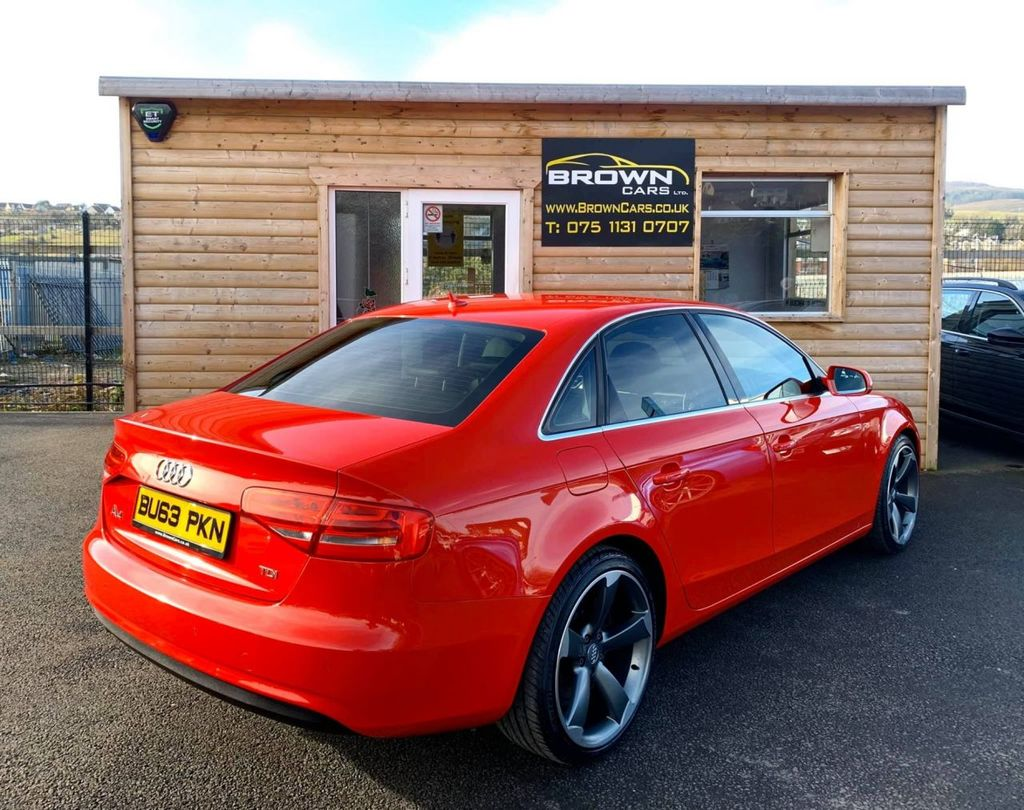 2013 Audi A4 2.0 TDI SE TECHNIK Diesel Manual **** Finance Available**** – Brown Cars Newry full