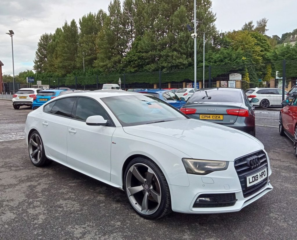 2013 Audi A5 2.0 SPORTBACK TDI BLACK EDITION S/S Diesel Cvt **** Finance Available**** – Brown Cars Newry full