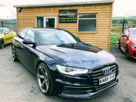 2013 Audi A6 2.0 TDI BLACK EDITION Diesel Cvt **** Finance Available**** – Brown Cars Newry