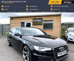 2013 Audi A6 2.0 AVANT TDI S LINE Diesel Manual **** Finance Available**** – Brown Cars Newry