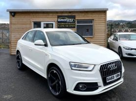 2013 Audi Q3 2.0 TDI QUATTRO S LINE Diesel Manual **** Finance Available**** – Brown Cars Newry
