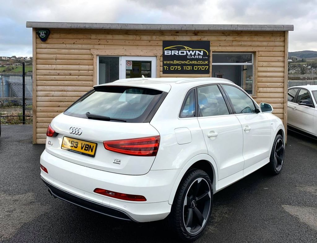 2013 Audi Q3 2.0 TDI QUATTRO S LINE Diesel Manual **** Finance Available**** – Brown Cars Newry full