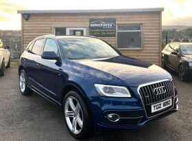 2013 Audi Q5 2.0 TDI QUATTRO S LINE PLUS Diesel Automatic **** Finance Available**** – Brown Cars Newry