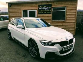 2013 BMW 3 Series 2.0 320D M SPORT TOURING Diesel Manual **** Finance Available**** – Brown Cars Newry