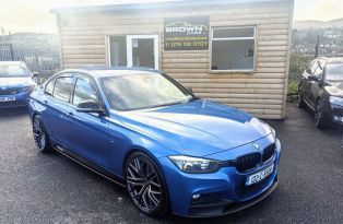 2013 BMW 3 Series 2.0 320D M SPORT Diesel Automatic Southern Reg Euro Price – Brown Cars Newry