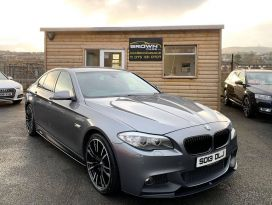2013 BMW 5 Series 2.0 520D M SPORT Diesel Automatic **** Finance Available**** – Brown Cars Newry