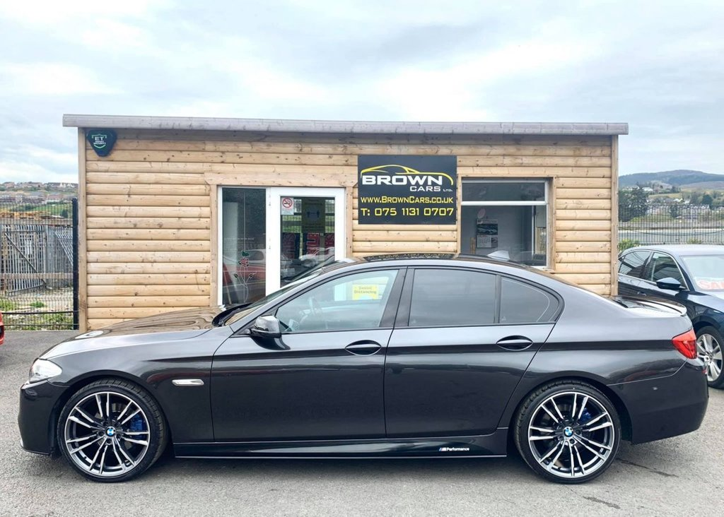 2013 BMW 5 Series 2.0 520D M SPORT Diesel Automatic **** Finance Available**** – Brown Cars Newry full