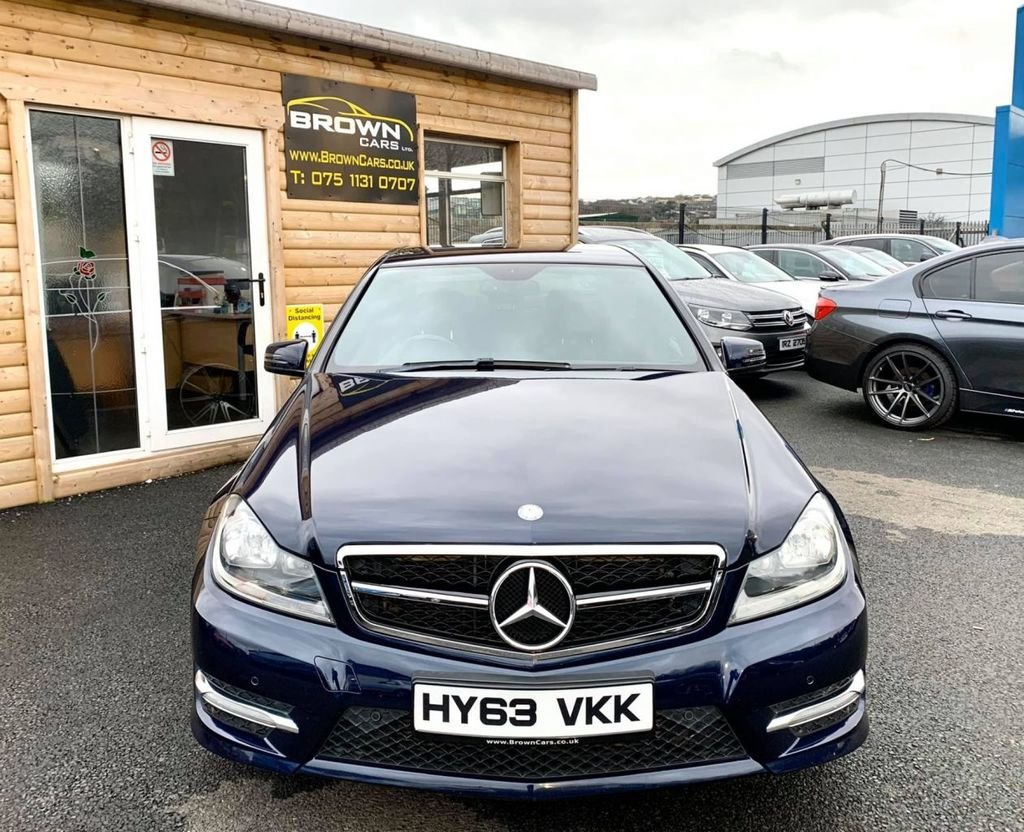 2013 Mercedes-Benz C Class C-CLASS 2.1 C220 CDI BLUEEFFICIENCY AMG SPORT Diesel Automatic **** Finance Available**** – Brown Cars Newry full