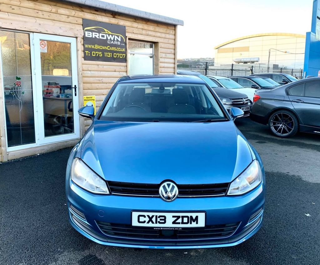 2013 Volkswagen Golf 1.6 SE TDI BLUEMOTION TECHNOLOGY Diesel Manual **** Finance Available**** – Brown Cars Newry full
