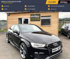 2014 Audi A3 1.6 TDI S LINE Diesel Manual **** Finance Available**** – Brown Cars Newry
