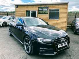 2014 Audi A5 2.0 SPORTBACK TDI S LINE Diesel Manual **** Finance Available**** – Brown Cars Newry