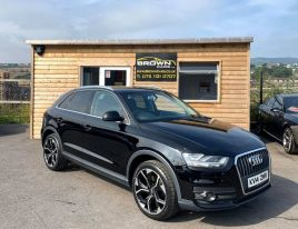 test22014 Audi Q3 2.0 TDI SE Diesel Manual **** Finance Available**** – Brown Cars Newry
