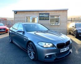 2014 BMW 5 Series 2.0 520D M SPORT Diesel Automatic  – Brown Cars Newry