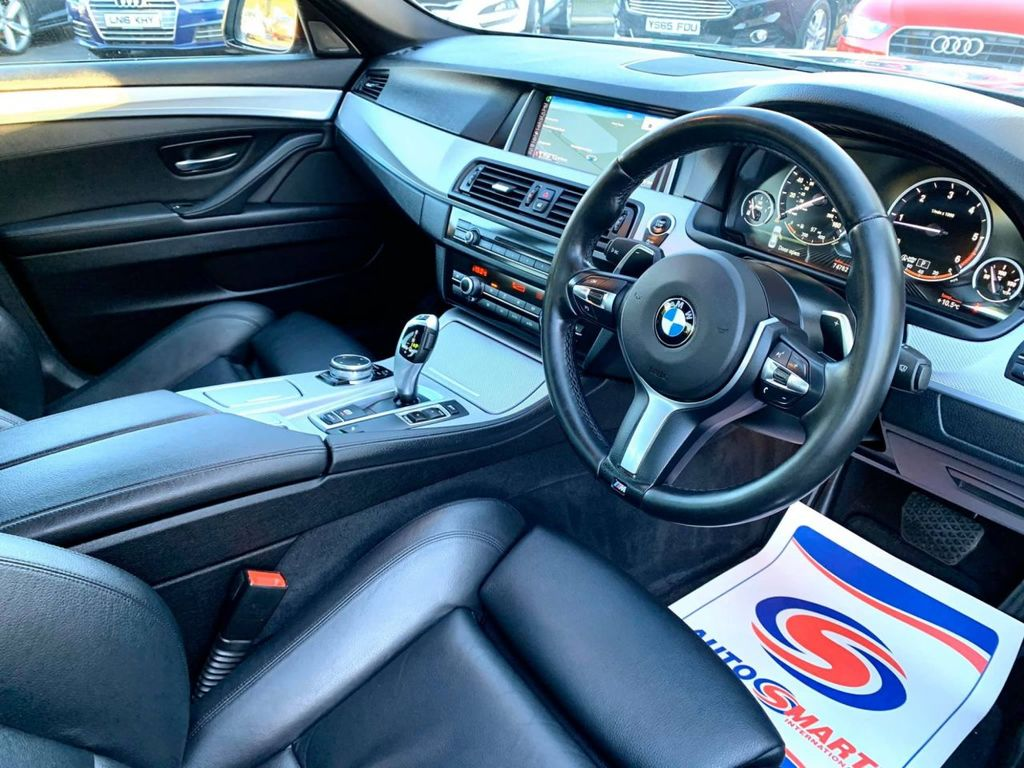 2014 BMW 5 Series 2.0 520D M SPORT Diesel Automatic  – Brown Cars Newry full