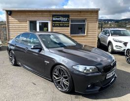2014 BMW 5 Series 2.0 520D M SPORT Diesel Automatic **** Finance Available**** – Brown Cars Newry