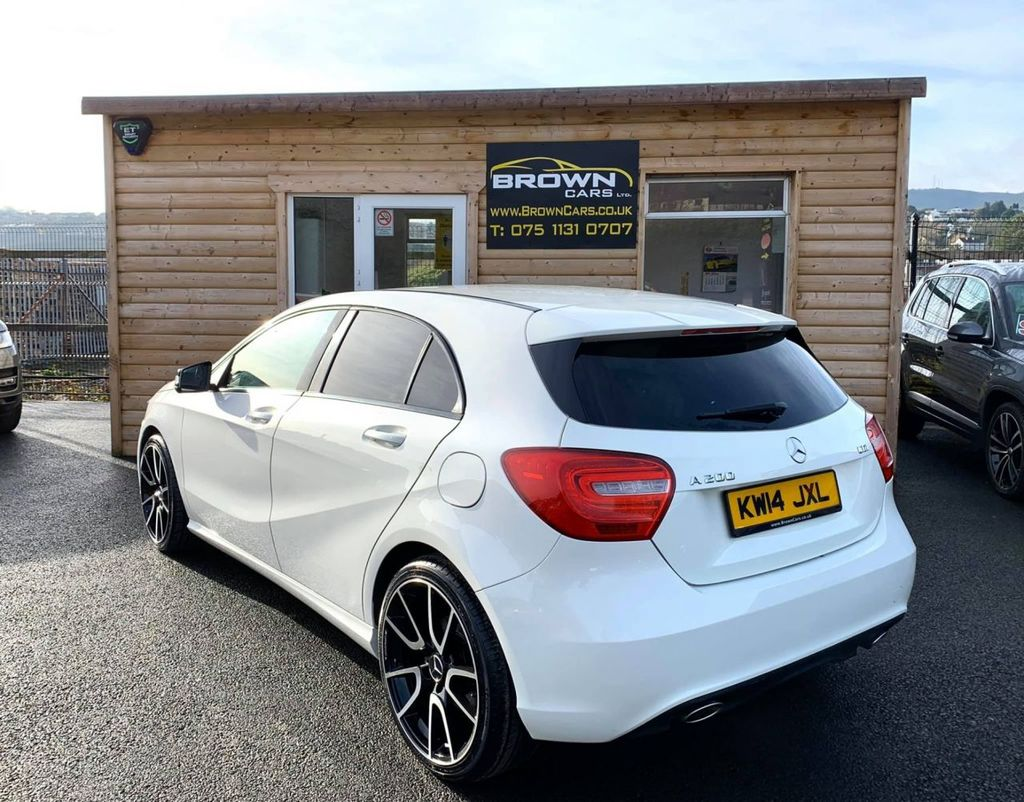 2014 Mercedes-Benz A Class A-CLASS 2.1 A200 CDI SPORT Diesel Semi Auto **** Finance Available**** – Brown Cars Newry full