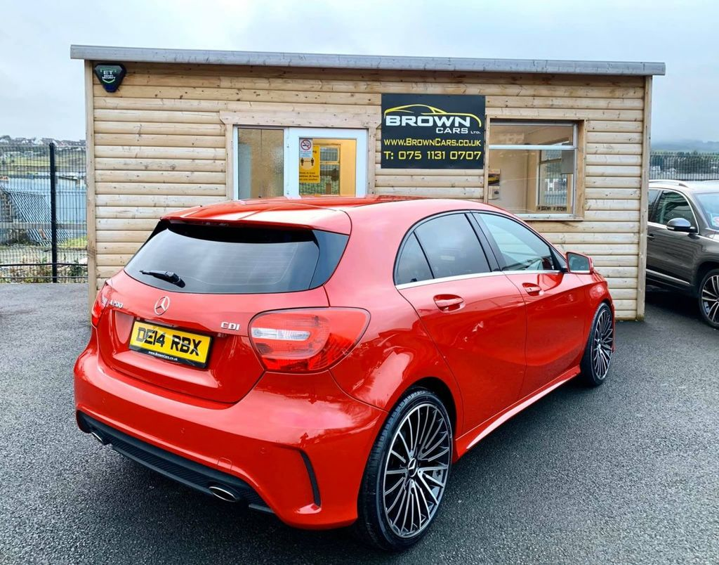 2014 Mercedes-Benz A Class A-CLASS 1.8 A200 CDI BLUEEFFICIENCY AMG SPORT Diesel Manual **** Finance Available**** – Brown Cars Newry full