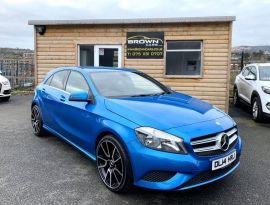 2014 Mercedes-Benz A Class A-CLASS 1.5 A180 CDI BLUEEFFICIENCY SPORT Diesel Semi Auto **** Finance Available**** – Brown Cars Newry