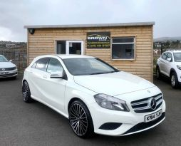 2014 Mercedes-Benz A Class A-CLASS 1.8 A200 CDI BLUEEFFICIENCY SPORT Diesel Semi Auto ****Finance Available **** – Brown Cars Newry