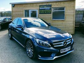 2014 Mercedes-Benz C Class C-CLASS 2.1 C220 BLUETEC AMG LINE Diesel Manual ****Finance Available**** – Brown Cars Newry