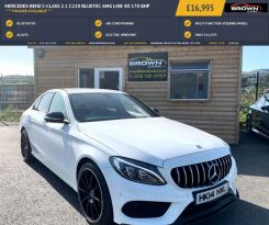 2014 Mercedes-Benz C Class C-CLASS 2.1 C220 BLUETEC AMG LINE Diesel Automatic **** Finance Available**** – Brown Cars Newry