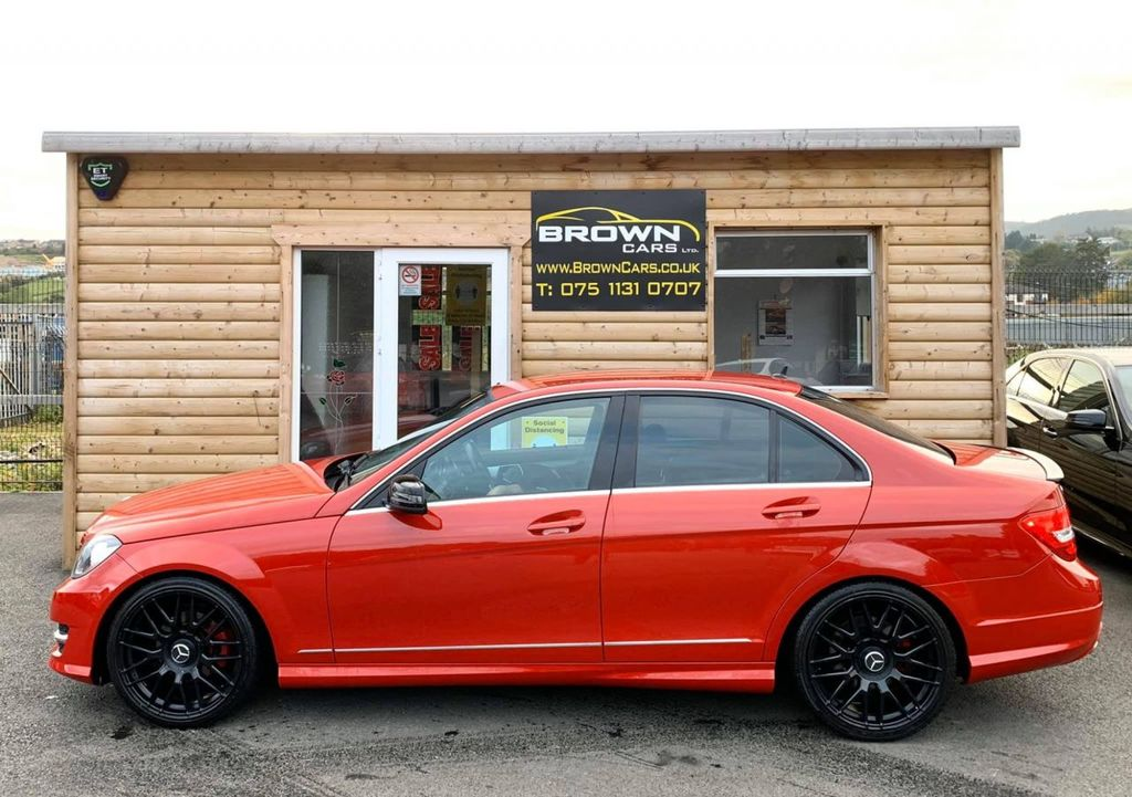 2014 Mercedes-Benz C Class C-CLASS 2.1 C220 CDI AMG SPORT EDITION PREMIUM Diesel Automatic **** Finance Available**** – Brown Cars Newry full