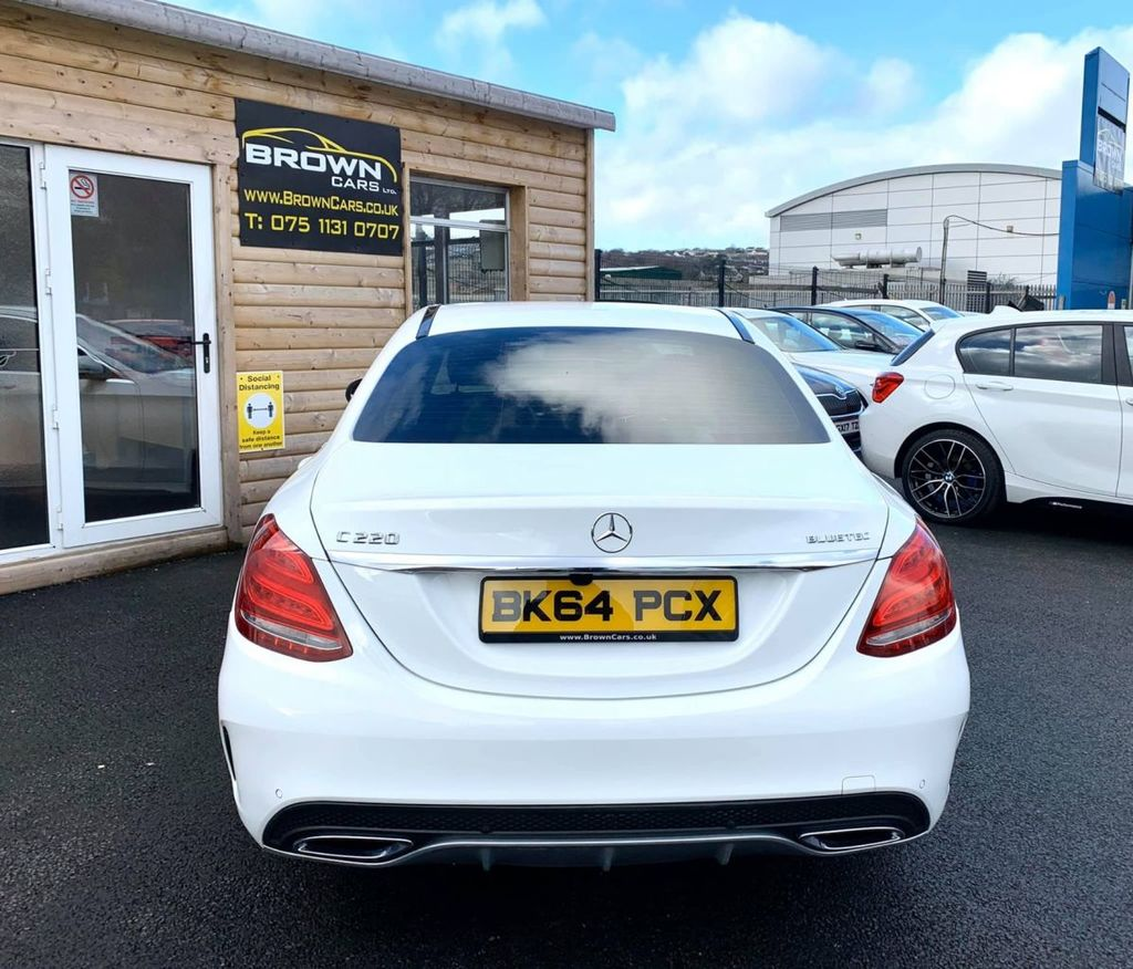2014 Mercedes-Benz C Class C-CLASS 2.1 C220 BLUETEC AMG LINE Diesel Manual  – Brown Cars Newry full