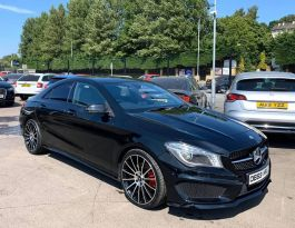 2014 Mercedes-Benz CLA220 CLA 2.1  CDI AMG SPORT Diesel Semi Auto **** Finance Available**** – Brown Cars Newry