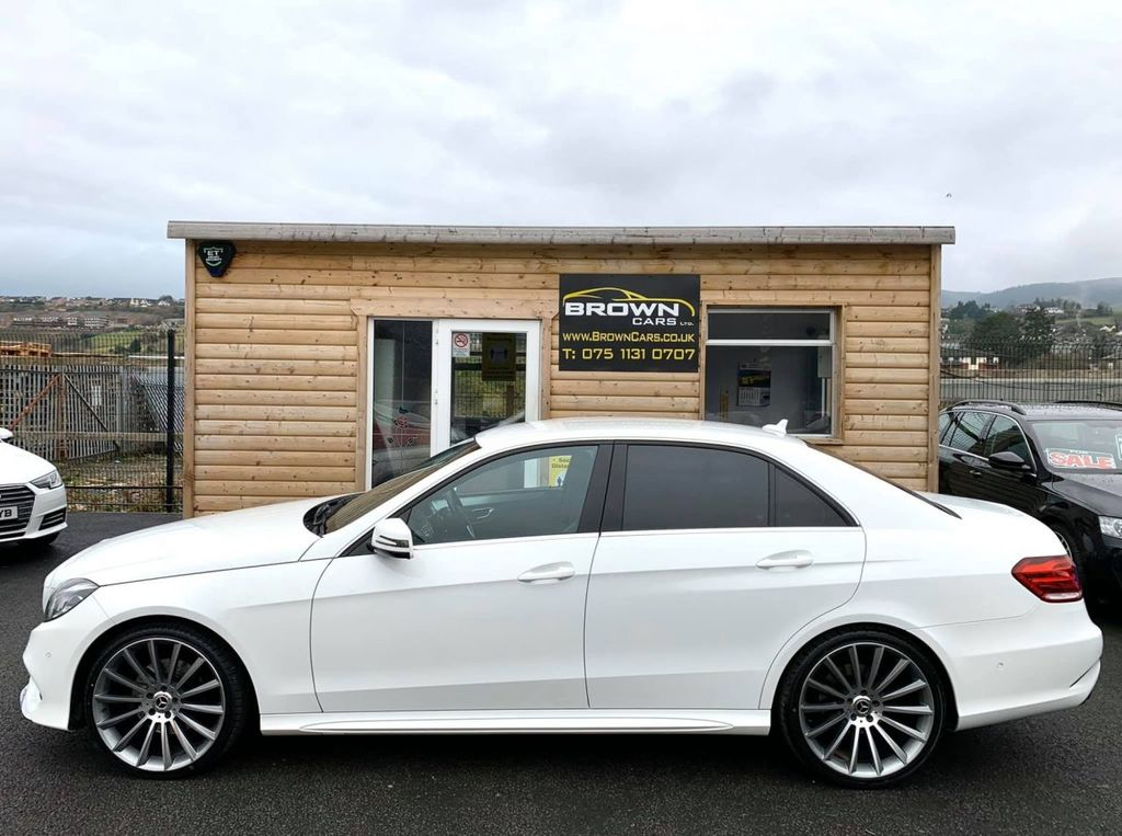 2014 Mercedes-Benz E Class E-CLASS 2.1 E220 CDI AMG SPORT Diesel Automatic **** Finance Available**** – Brown Cars Newry full