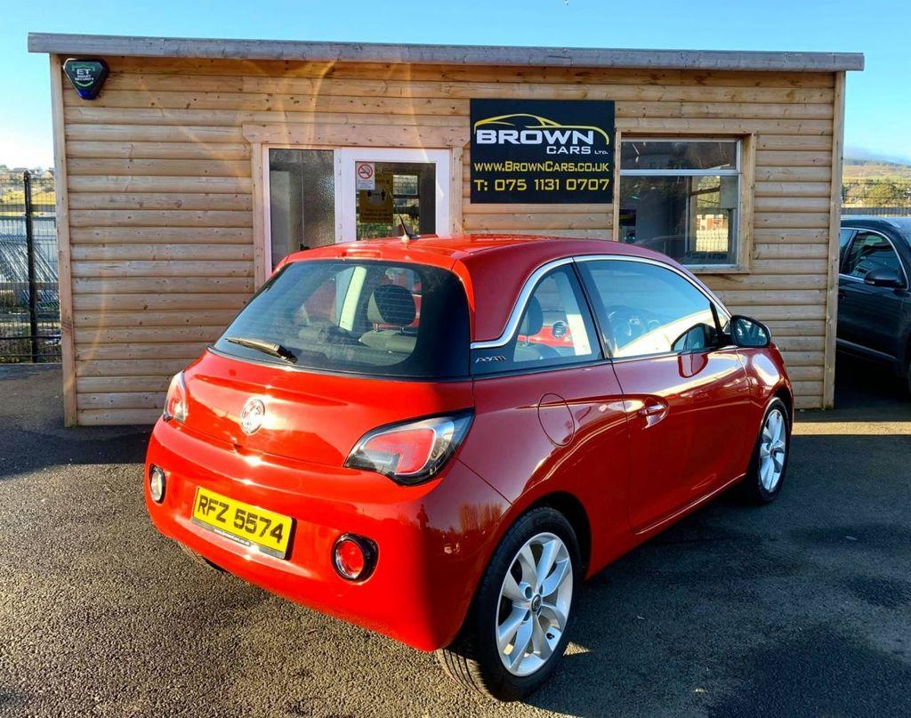 2014 Vauxhall ADAM 1.2 JAM Petrol Manual **** Finance Available**** – Brown Cars Newry full