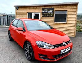 2014 Volkswagen Golf 1.6 SE TDI BLUEMOTION TECHNOLOGY Diesel Manual **** Finance Available**** – Brown Cars Newry