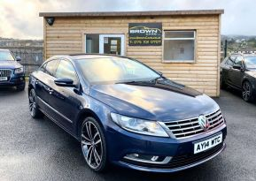 2014 Volkswagen GT CC 2.0  TDI BLUEMOTION TECHNOLOGY Diesel Manual **** Finance Available**** – Brown Cars Newry