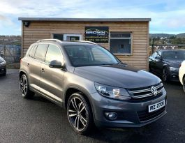 2014 Volkswagen Tiguan 2.0 MATCH TDI BLUEMOTION TECHNOLOGY Diesel Manual **** Finance Available**** – Brown Cars Newry