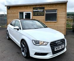 2015 Audi A3 2.0 TDI SPORT Diesel Manual **** Finance Available**** – Brown Cars Newry