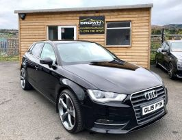 2015 Audi A3 1.6 TDI SPORT Diesel Manual **** Finance Available**** – Brown Cars Newry