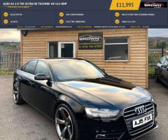 2015 Audi A4 2.0 TDI ULTRA SE TECHNIK Diesel Manual **** Finance Available**** – Brown Cars Newry