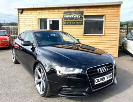 2015 Audi A5 2.0 TDI ULTRA SE TECHNIK Diesel Manual **** Finance Available**** – Brown Cars Newry