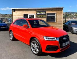 2015 Audi Q3 2.0 TDI QUATTRO S LINE PLUS Diesel Semi Auto finance available – Brown Cars Newry