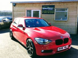 2015 BMW 1 Series 1.6 116D EFFICIENTDYNAMICS BUSINESS Diesel Manual **** Finance Available**** – Brown Cars Newry