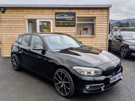 2015 BMW 1 Series 1.5 116D ED PLUS Diesel Manual ****PAY NOTHING FOR 2 MONTHS **** – Brown Cars Newry