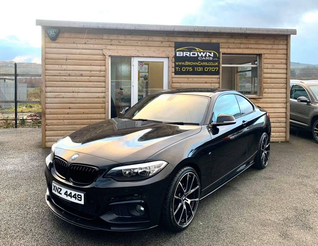 2015 BMW 2 Series 2.0 218D M SPORT Diesel Manual **** Finance Available**** – Brown Cars Newry full