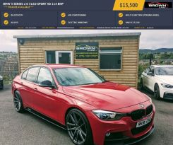 2015 BMW 3 Series 2.0 316D SPORT Diesel Automatic **** Finance Available**** – Brown Cars Newry