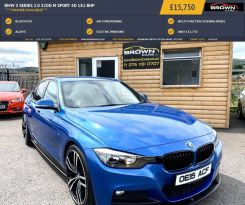 2015 BMW 3 Series 2.0 320D M SPORT Diesel Automatic **** Finance Available**** – Brown Cars Newry
