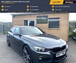 2015 BMW 3 Series Y   2.0 320D M SPORT Diesel Automatic **** Finance Available**** – Brown Cars Newry