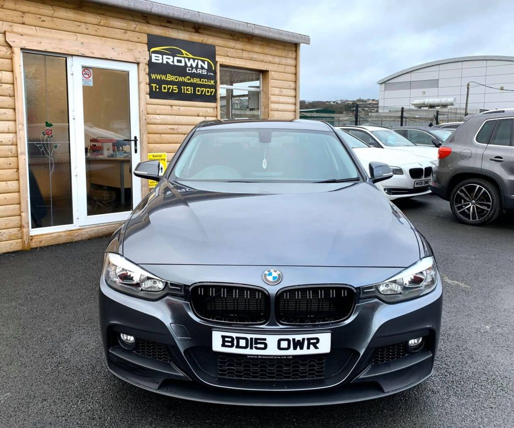 2015 BMW 3 Series 2.0 318D SPORT Diesel Manual **** Finance Available**** – Brown Cars Newry full