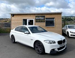 2015 BMW 5 Series 2.0 520D M SPORT Diesel Automatic **** Finance Available**** – Brown Cars Newry