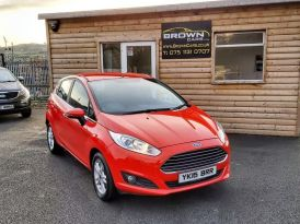 2015 Ford Fiesta 1.2 ZETEC Petrol Manual  – Brown Cars Newry