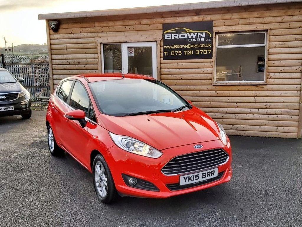 2015 Ford Fiesta 1.2 ZETEC Petrol Manual  – Brown Cars Newry full