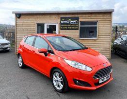 2015 Ford Fiesta 1.2 ZETEC Petrol Manual  – Brown Cars Newry